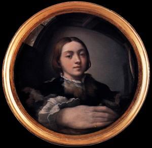 1523 Autoportrait au miroir convexe
