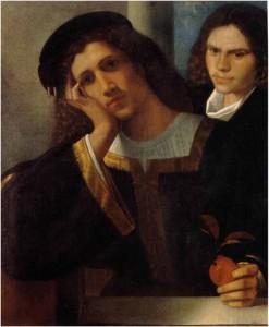 Giorgione_Doppioritratto_Roma_MuseoNazionalediPalazzoVenezia