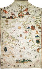 Carte-de-la-mer-méditerranée