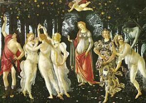 Sandro-Botticelli-Le-Printemps-1482-Florence-Offices