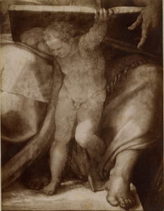 Michelangelo, Sistina, Putto