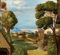 Giorgione-Adoration-des-bergers-détail-1505-Washington-NGA