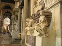 Giorgio-Vasari-Tombe-de-Michelangelo-1570-Florence-Basilica-di-Santa-Croce