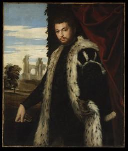 Véronèse, Portrait d'homme, 1555, huile sur toile, 120x102cm, Budapest, Musée des Beaux Arts
