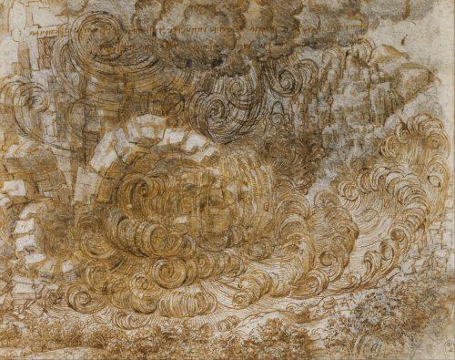 leonard-de-vinci-deluge-1517-1518-dessin-162-x-203-mm-royal-collection